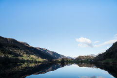 Glassy Lake. In south Norway royalty free stock photo