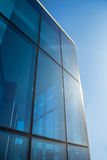 Glassy office building Royalty Free Stock Images