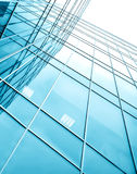 Glassy texture business center Royalty Free Stock Photos