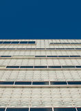 Glassy white facade. Stock Images