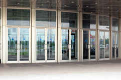 Glastüren Lizenzfreies Stockbild