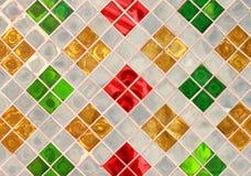 Glastabelle von Auslegungen Stockbilder