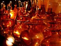 Glastillverkningar i en shoppa Royaltyfri Foto