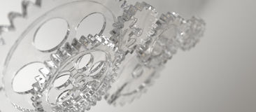 Glastoestel Royalty-vrije Stock Afbeelding