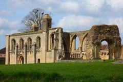glastonbury的修道院 免版税图库摄影