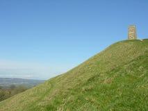 glastonbury σκαπάνη στοκ εικόνες με δικαίωμα ελεύθερης χρήσης