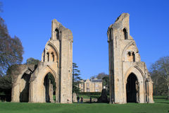 Glastonbury Abbey 2 Royalty Free Stock Image
