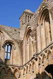 Glastonbury Abbey. Ruins of Glastonbury Abbey, England stock image