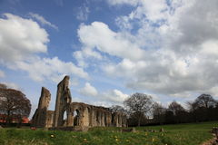 Glastonbury Abbey Stock Photography