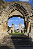Glastonbury Abbey Stock Photo