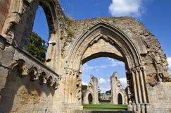 Glastonbury Abbey Stock Image