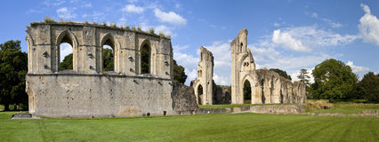 Glastonbury Abbey Royalty Free Stock Images