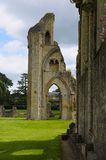 Glastonbury Abbey Ruin stock foto
