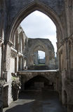 Glastonbury Abbey Ruins Royalty Free Stock Image