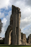 Glastonbury Abbey Ruins Royalty Free Stock Photos