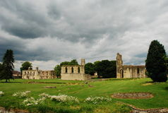 Glastonbury abbey, Somerset, England Royalty Free Stock Images