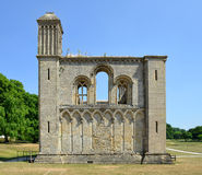 Glastonbury Abbey in Somerset Stock Photography