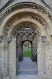 Glastonbury. Abbey in Somerset, UK Stock Photos