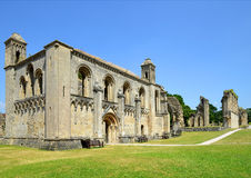 Glastonbury-Abtei Stockbilder