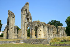 Glastonbury-Abtei Lizenzfreie Stockfotos