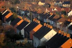 Glastonbury domy Obraz Royalty Free