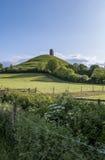 Glastonbury Felsen Lizenzfreies Stockfoto