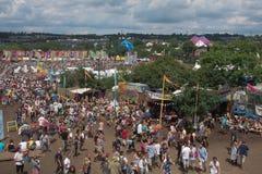 Glastonbury-Festival der Künste stockbild