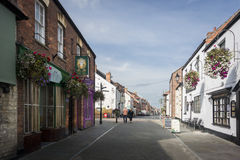Glastonbury Northload Street Stock Photography
