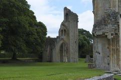 Glastonbury Abbey Ruin Stock Image