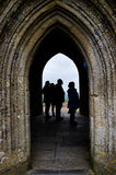 glastonbury somerset tor Royaltyfri Foto