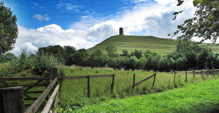 Glastonbury Tor Stock Photo