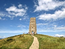 glastonbury tor Fotografia Royalty Free