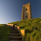 Glastonbury Tor Royalty Free Stock Photos