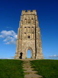 Glastonbury Tor. In Somerset, England Stock Images