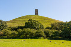 Glastonbury Tor Somerset Stock Photo