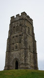 Glastonbury tor tower Stock Images