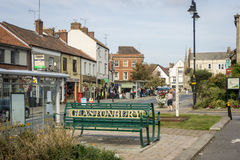 Glastonbury Town Centre Royalty Free Stock Images