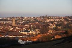 Glastonbury Town Royalty Free Stock Photos