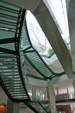 Glastreppenhaus Lizenzfreies Stockfoto