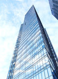 Glasvägg av kontorsbyggnad Royaltyfri Bild