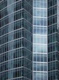 Glasväggskyskrapa Arkivbild