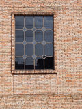 Glasvenster Stock Foto