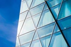 Glasvoorgevel van de stedelijke bouw Royalty-vrije Stock Foto