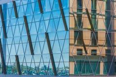 Glasvoorgevel van de stedelijke bouw Royalty-vrije Stock Fotografie