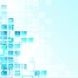 Glaswürfel Stockfotografie