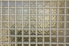 Glaswand Stockbild