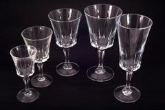Glaswaren Stockfotos