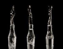 Glaswasserflasche Lizenzfreie Stockfotos