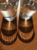 Glaswater royalty-vrije stock afbeelding