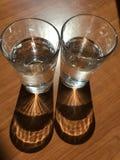 Glaswater royalty-vrije stock foto's